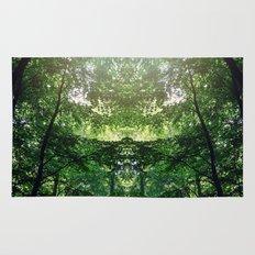 Mirror Forest Rug