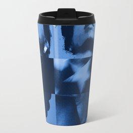 commie blue Travel Mug