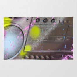 Radio Cassette Recorder Sprayed Rug