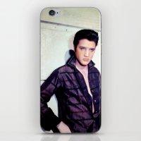 elvis presley iPhone & iPod Skins featuring Elvis Presley by Neon Monsters