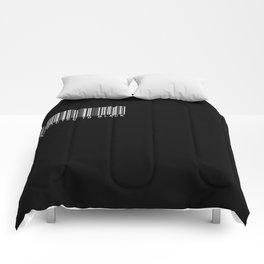 ADDICTED TO BLACK Comforters