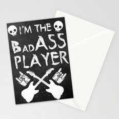 BadASS Player Stationery Cards