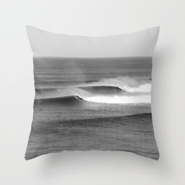 Bells Surf Surf Session Throw Pillow