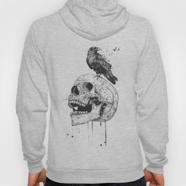 New skull (bw) Hoody