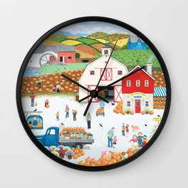 The Harvest Moon Wall Clock