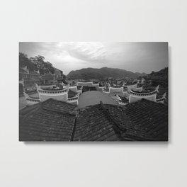 Phoenix China Metal Print
