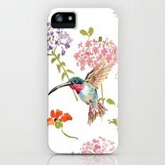 Hummingbird floral iPhone (5, 5s) Slim Case