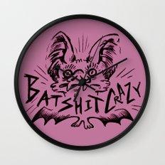 Batshit Crazy Wall Clock