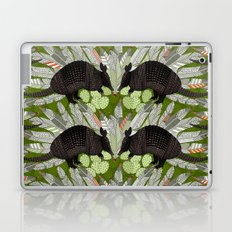 native armadillos green Laptop & iPad Skin