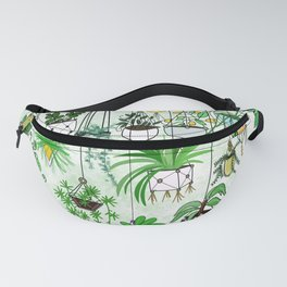 Where The Green Grows Fanny Pack