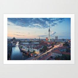 Berlin Classic Art Print