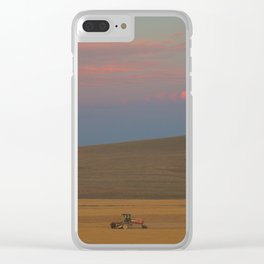Harvest at Sunset Clear iPhone Case