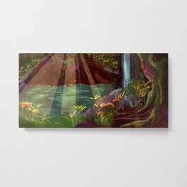 In the Forest Metal Print