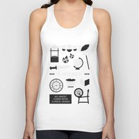 ouat Tank Tops featuring OUAT - A Wizard by Redel Bautista