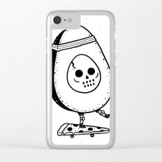 Pizzacado Clear iPhone Case