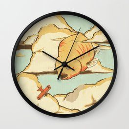 Sky Diving Wall Clock