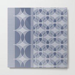 Astroid violet Metal Print