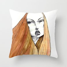Apple Peel Throw Pillow