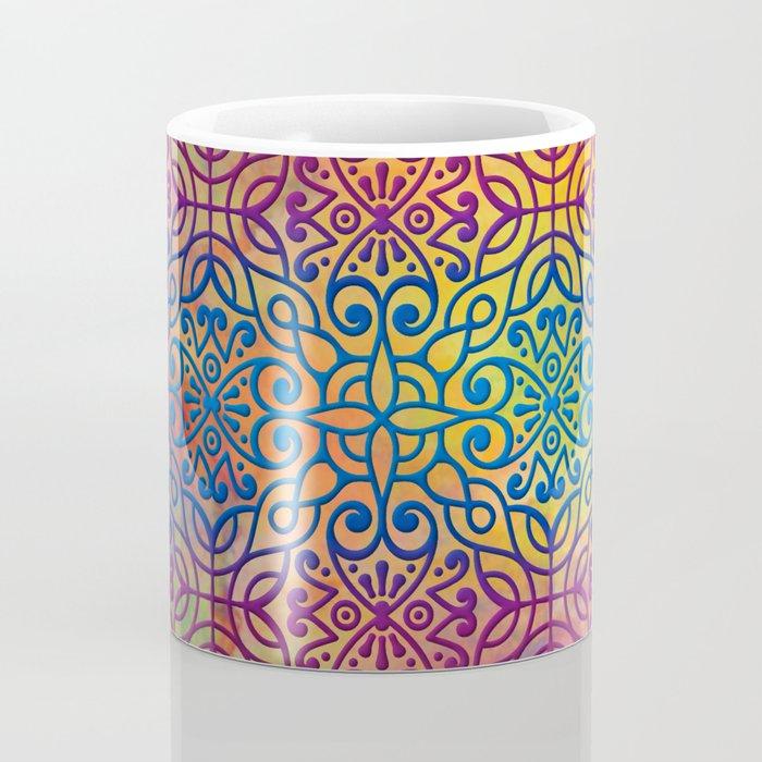 DP050-1 Colorful Moroccan pattern Coffee Mug