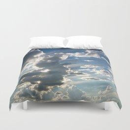 Cloud Intensity Duvet Cover
