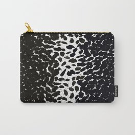 Animal Print Cheetah Love Black and White #2 Collection Carry-All Pouch