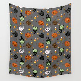 Halloween Spooks Wall Tapestry