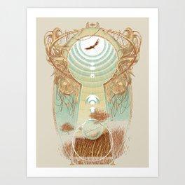 Unlocking Horizons Art Print