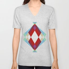 Lucky Diamonds Unisex V-Neck