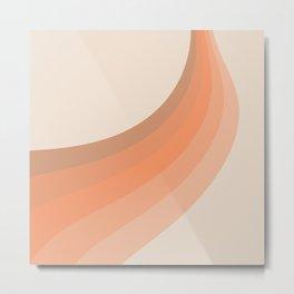 Soleil Swirl Metal Print