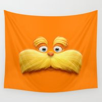 daenerys targaryen Wall Tapestries featuring THE LORAX by Inara