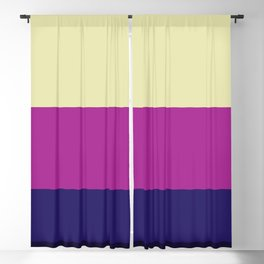 Classic Abstract Stripes Achird Blackout Curtain