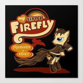 My Little Firefly Canvas Print