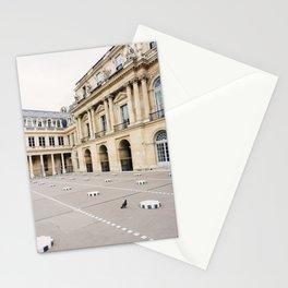 Buren's Columns 2, Le Palais Royal Courtyard, Paris, France Stationery Cards