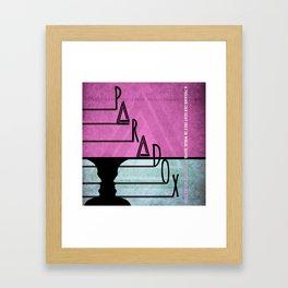 Paradox 1 Framed Art Print