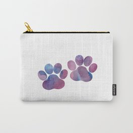 Dog Paw Prints Carry-All Pouch