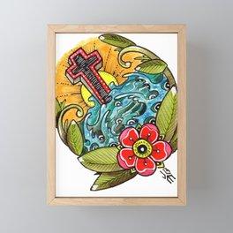 Rock of Ages Framed Mini Art Print