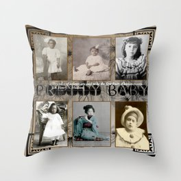 Pretty Baby Throw Pillow