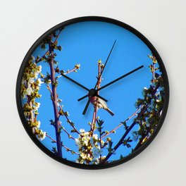 Red Canary - Good Morning - Jeronimo Rubio Photogaphy 2016 Wall Clock