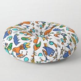Mini amusons nous Floor Pillow