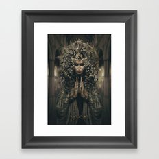 Asasara (portrait version) Framed Art Print