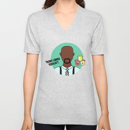 Terry Jeffords Unisex V-Neck
