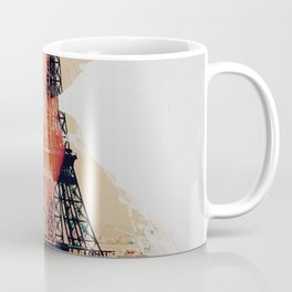 Amelie, minimalist movie poster, french film playbill, the fabulous life of Amélie Poulain, Coffee Mug