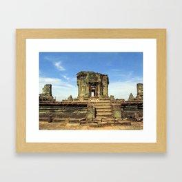 Angkor, Cambodia Framed Art Print