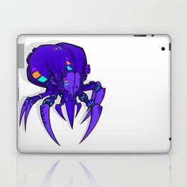 Mighty Mite - Purple Laptop & iPad Skin