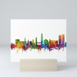 Split Croatia Skyline Mini Art Print