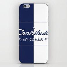 Contributor iPhone & iPod Skin