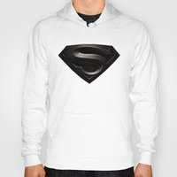 superman Hoodies featuring SUPERMAN by Smart Friend