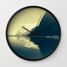 Morning Bliss Wall Clock