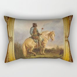 Framed Chief Pachycephalosaurus Rectangular Pillow
