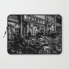 Bikes on Beale Memphis Laptop Sleeve